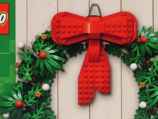 LEGO 40426 Weihnachtskranz vorgestellt