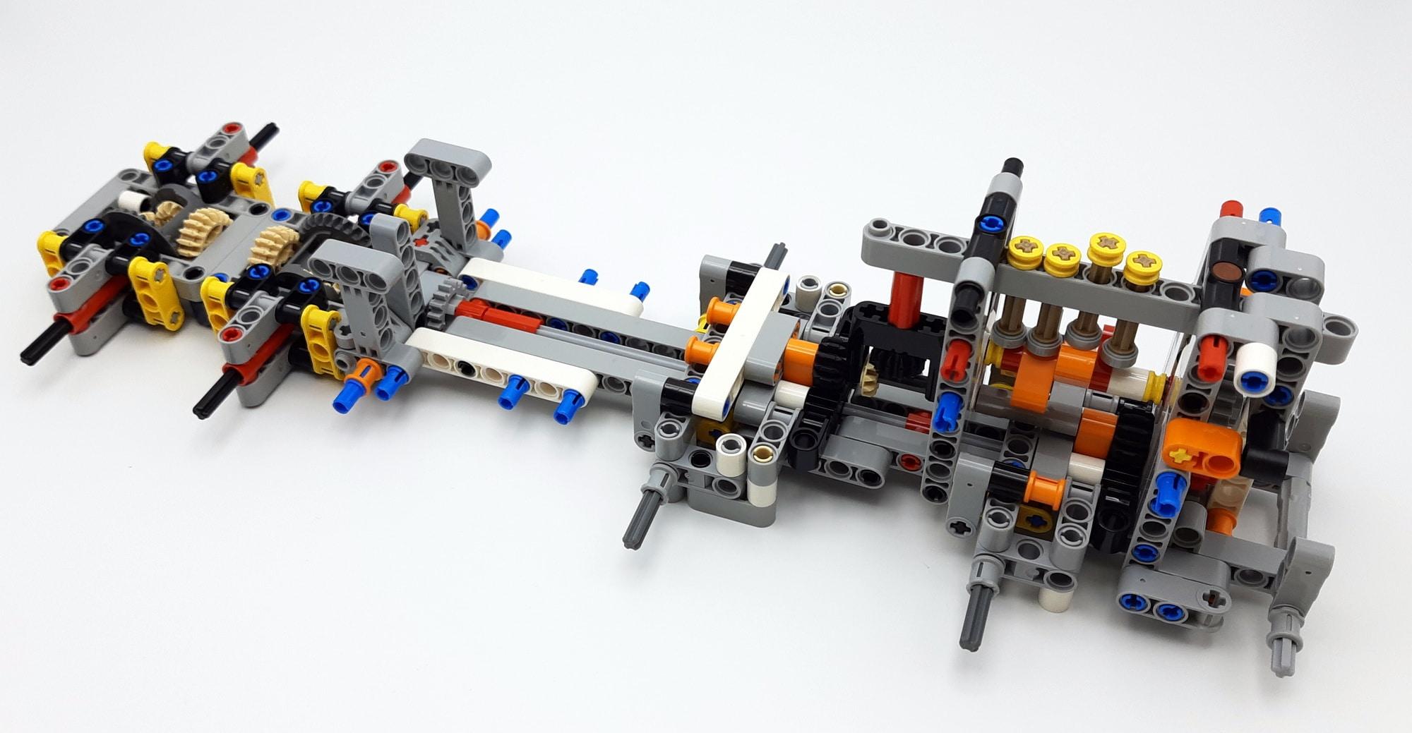 LEGO 42112 Betonmischer Lkw - Bauabschnitt 1