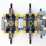 LEGO 42112 Betonmischer Lkw - Bauabschnitt 1 Detail Differential