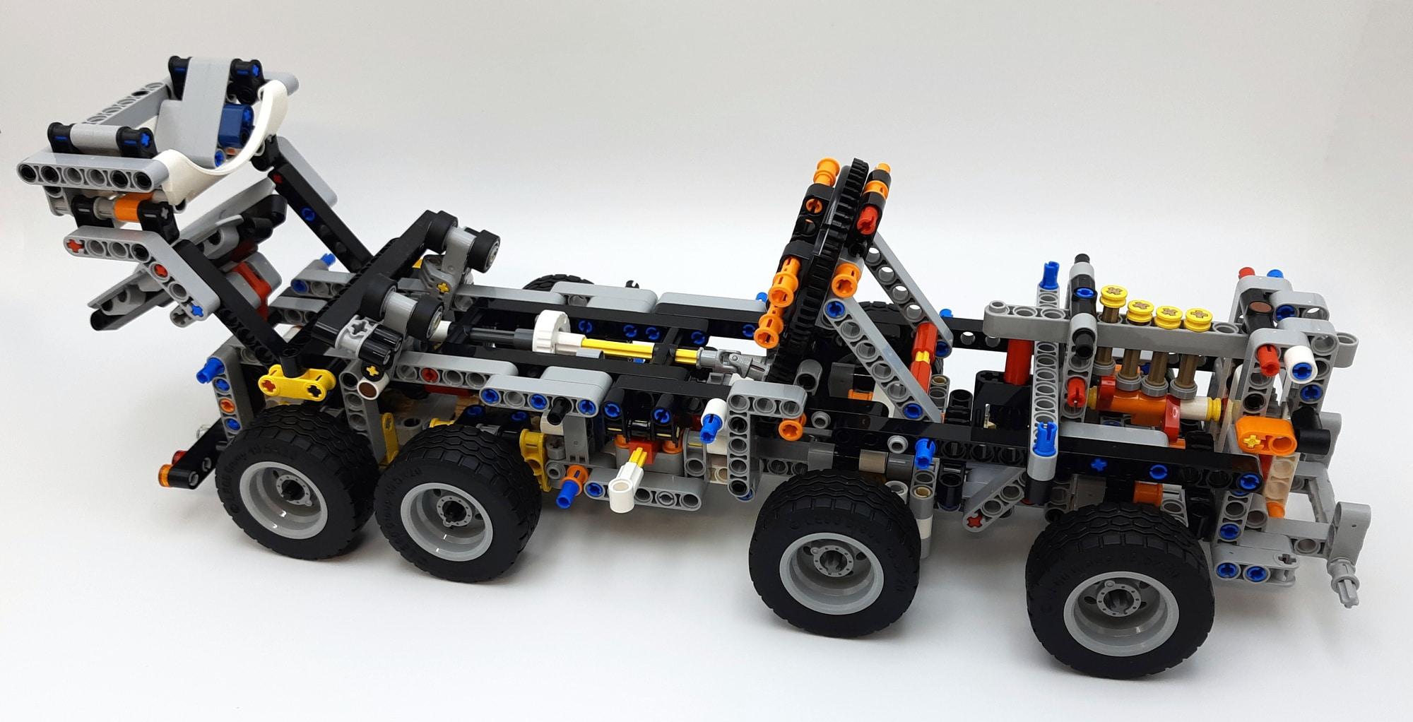 LEGO 42112 Betonmischer Lkw - Bauabschnitt 2