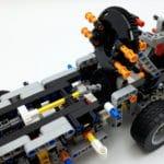 LEGO 42112 Betonmischer Lkw - Bauabschnitt 2 Detail Trommelantrieb