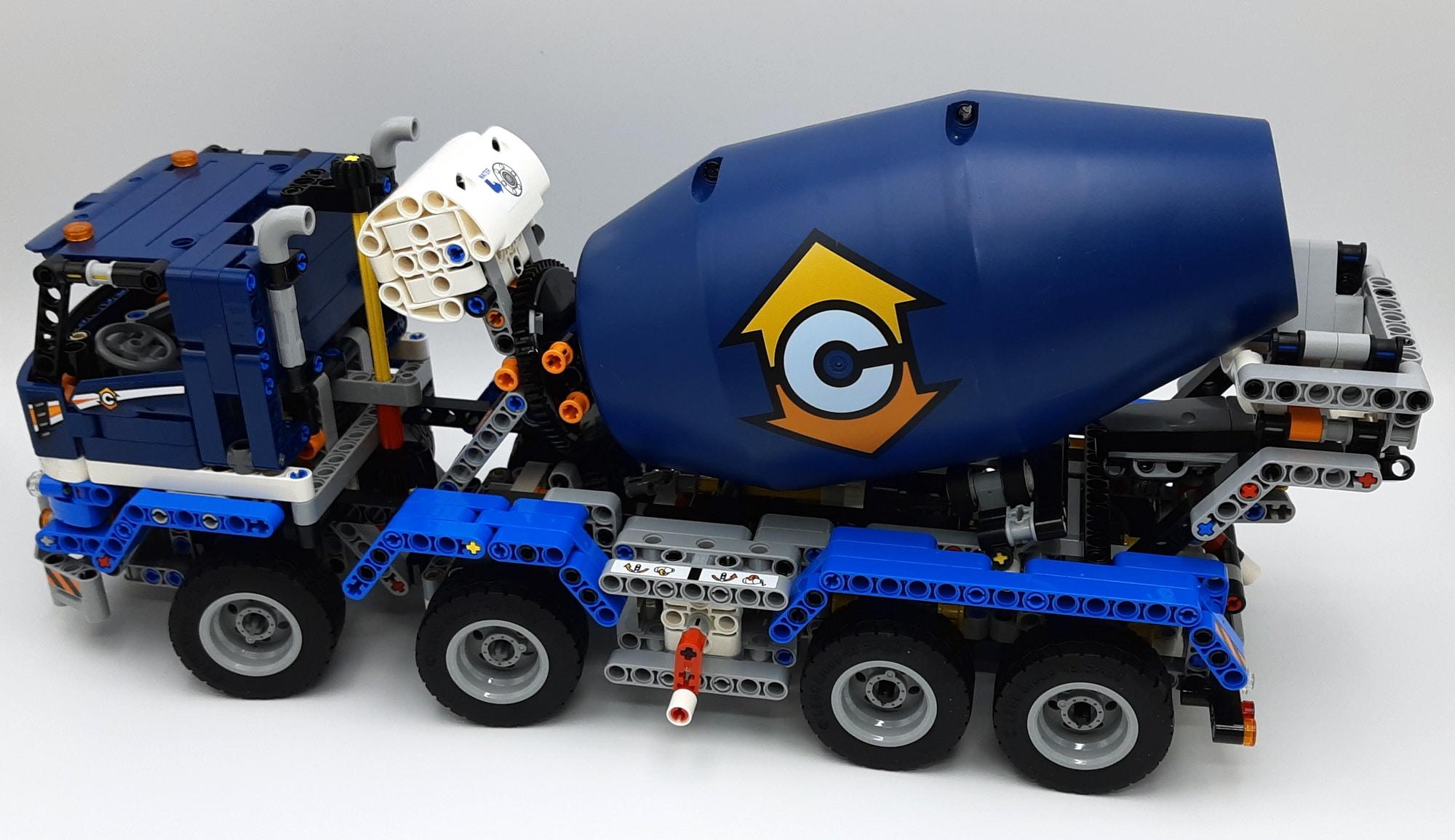 LEGO 42112 Betonmischer Lkw - Bauabschnitt 3