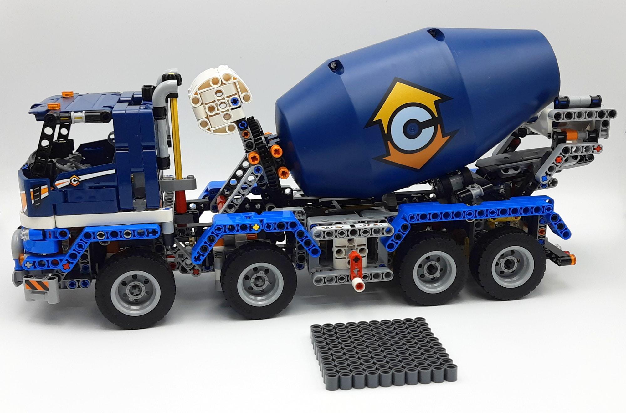 LEGO 42112 Betonmischer Lkw - Bauabschnitt 4
