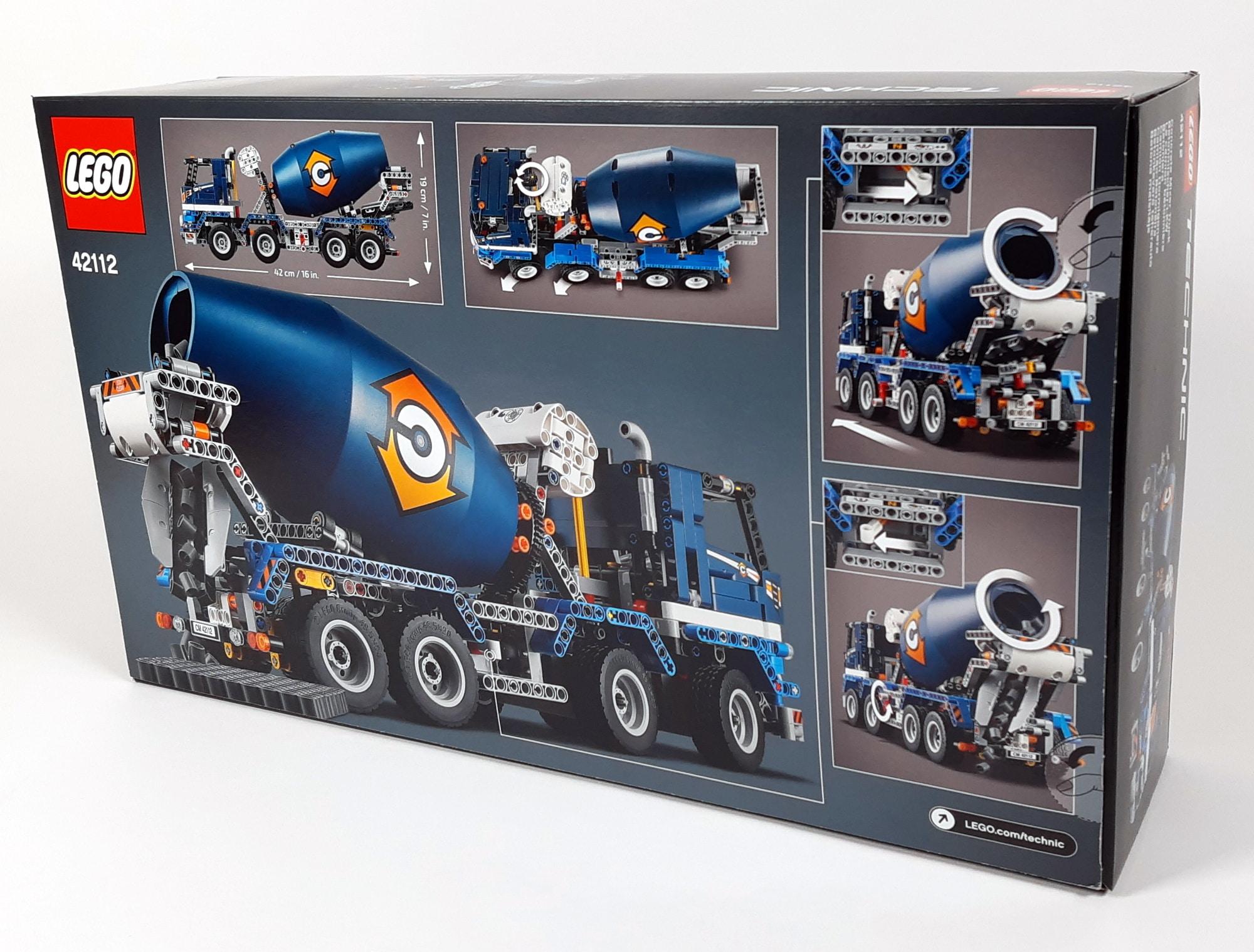 LEGO 42112 Betonmischer Lkw - Box hinten