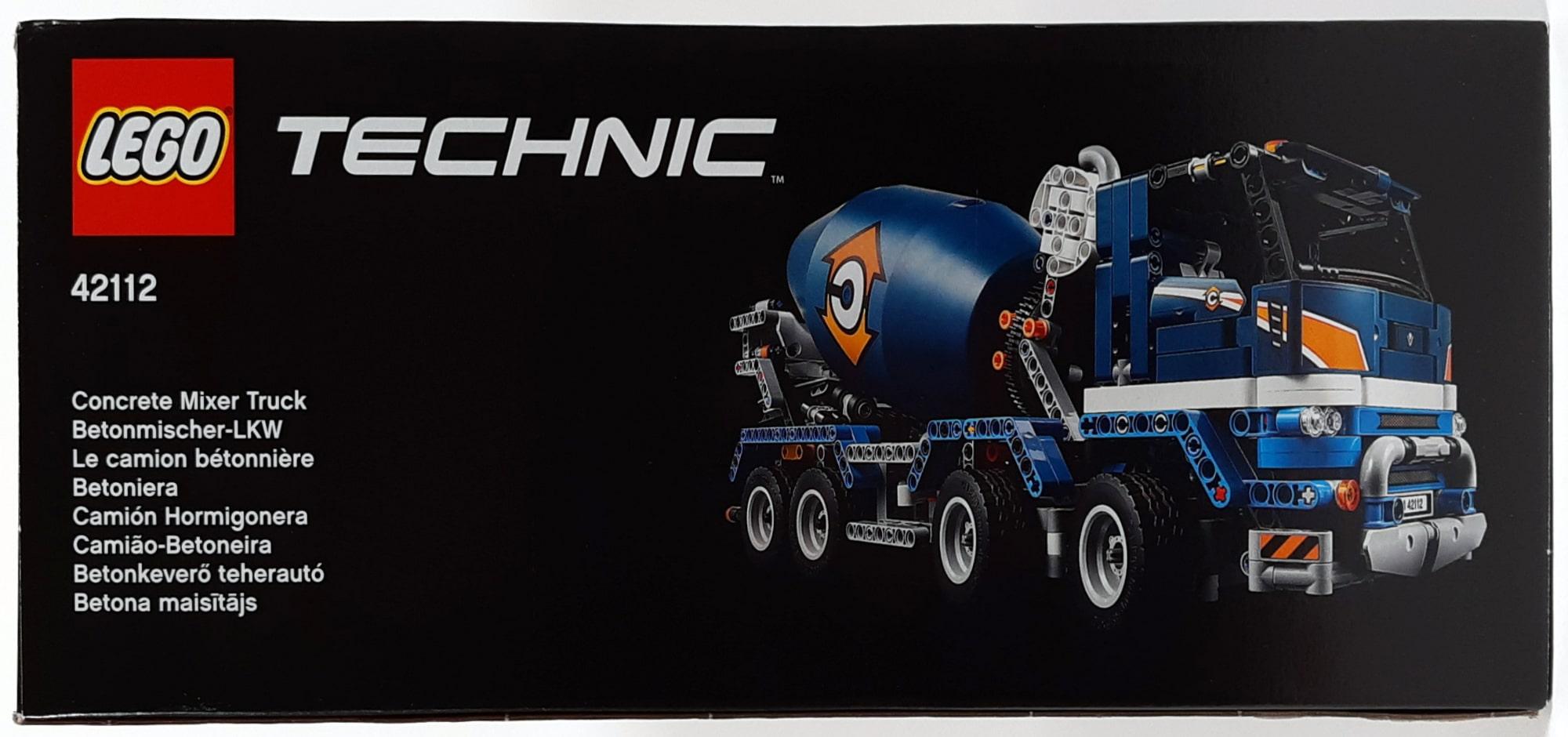 LEGO 42112 Betonmischer Lkw - Box Seite 1