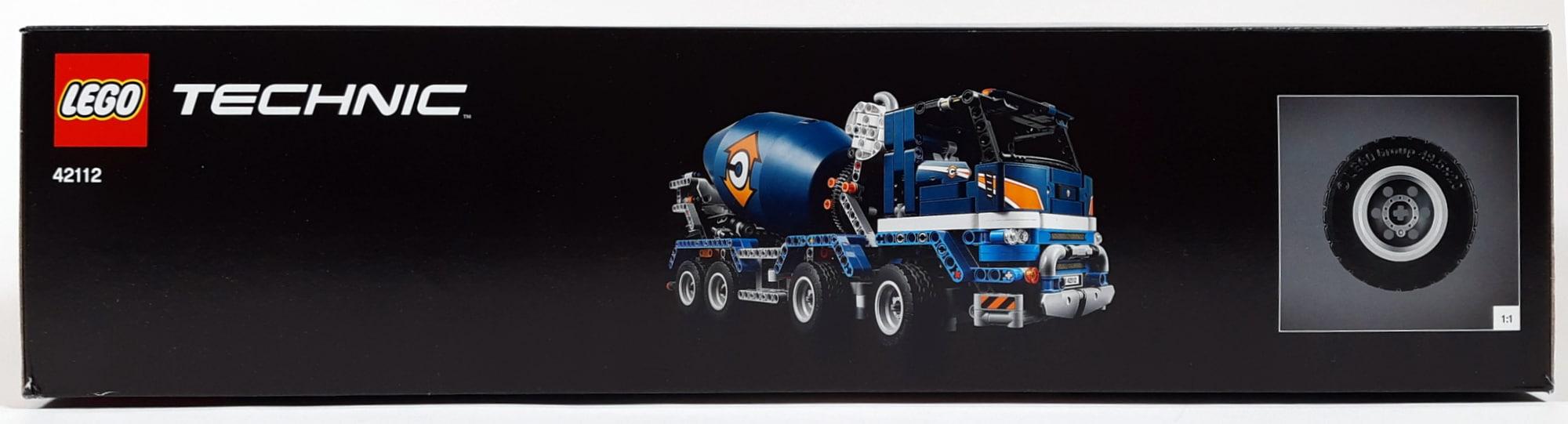 LEGO 42112 Betonmischer Lkw - Box Seite 2