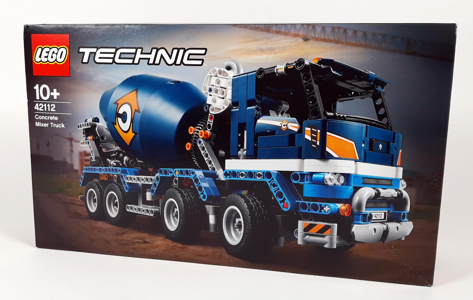 LEGO 42112 Betonmischer Lkw - Box vorne