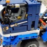 LEGO 42112 Betonmischer Lkw - Detail Fahrerhaus