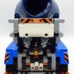 LEGO 42112 Betonmischer Lkw - Rückansicht