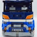 LEGO 42112 Betonmischer Lkw - Frontansicht