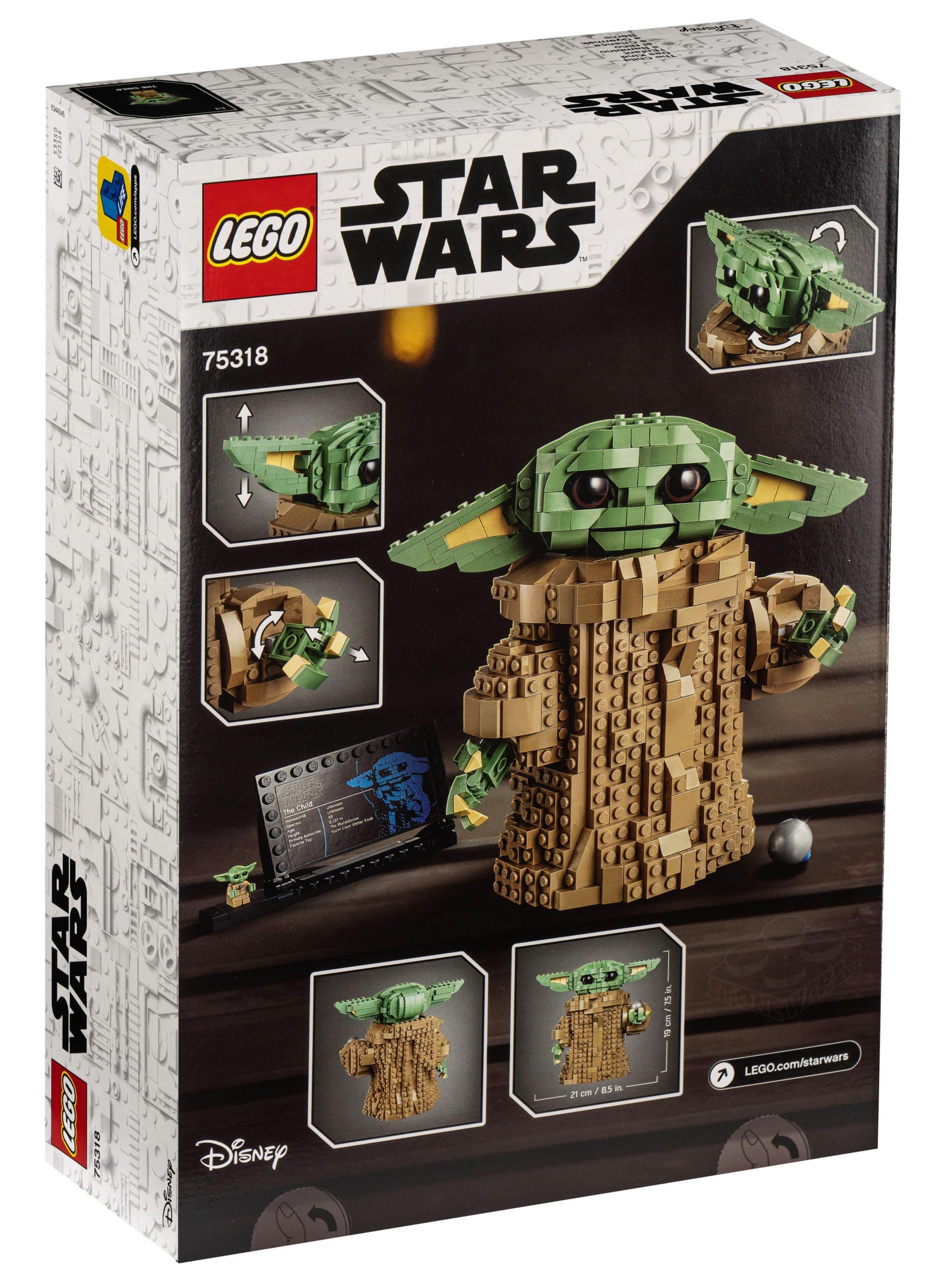 LEGO 75318 The Child Box Back