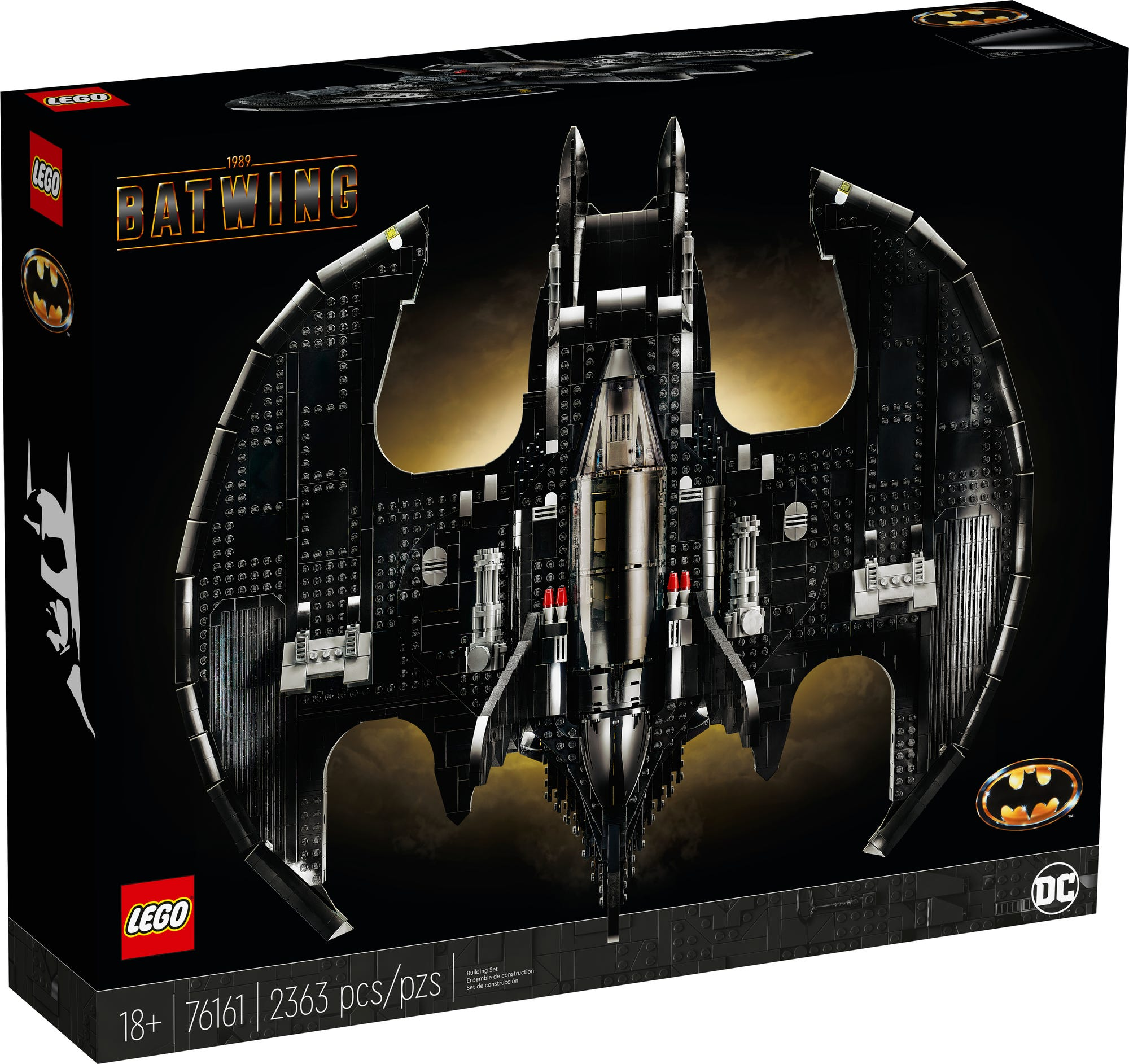 LEGO 76161 1989 Batwing (Box Vorderseite)