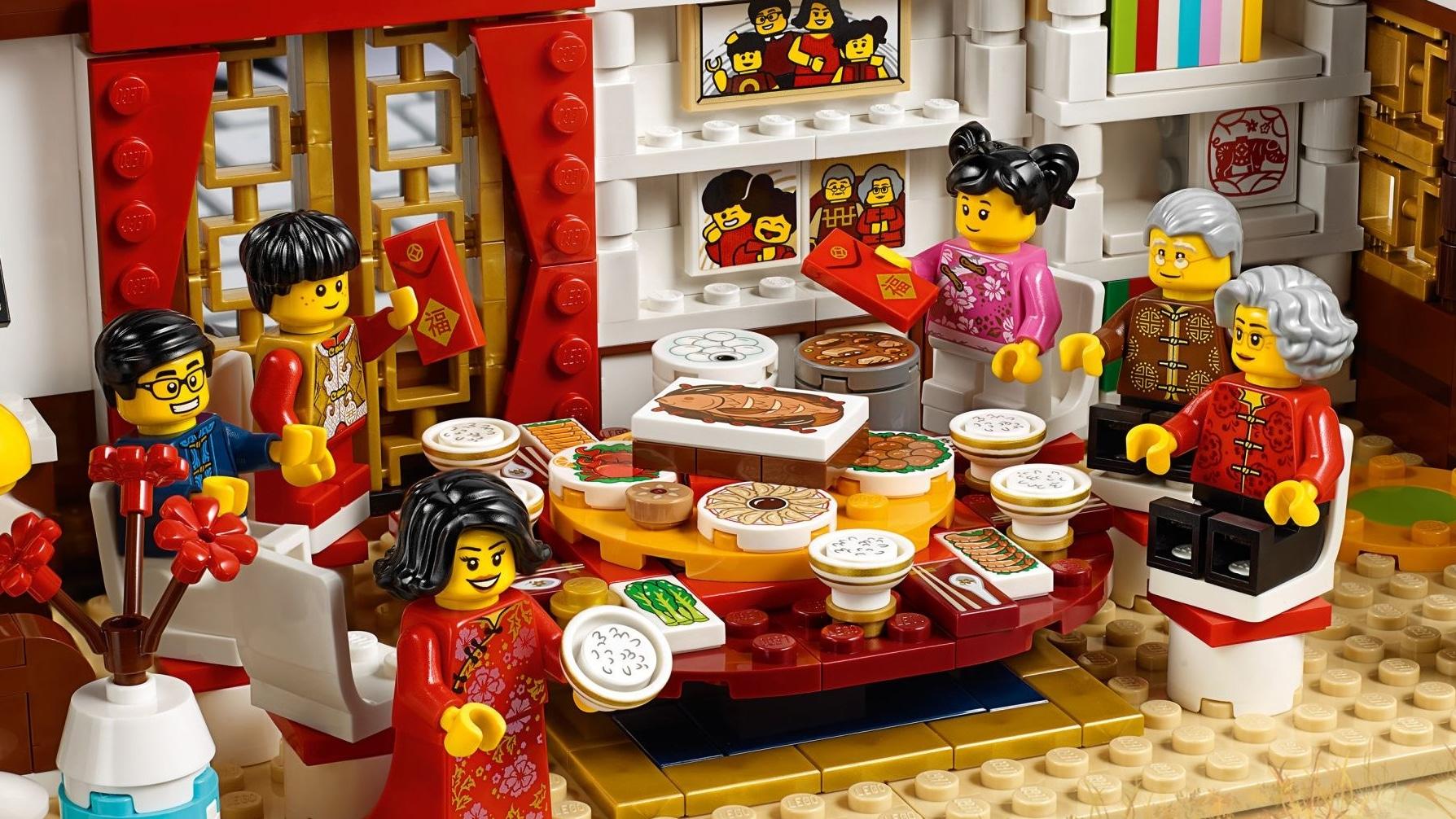 LEGO 80105 Tempelmarkt Zum Chinesischen Neujahrsfe Vergleich