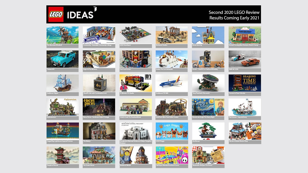 LEGO Ideas 2. Review Phase 2020