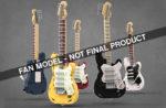 LEGO Ideas Legendary Stratocaster
