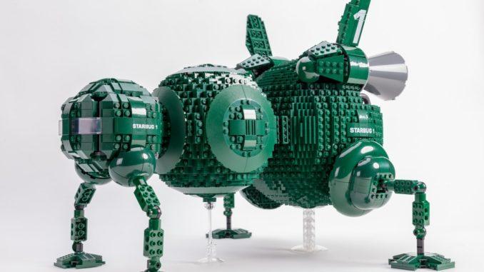 LEGO Ideas Red Dwarf Starbug (1)