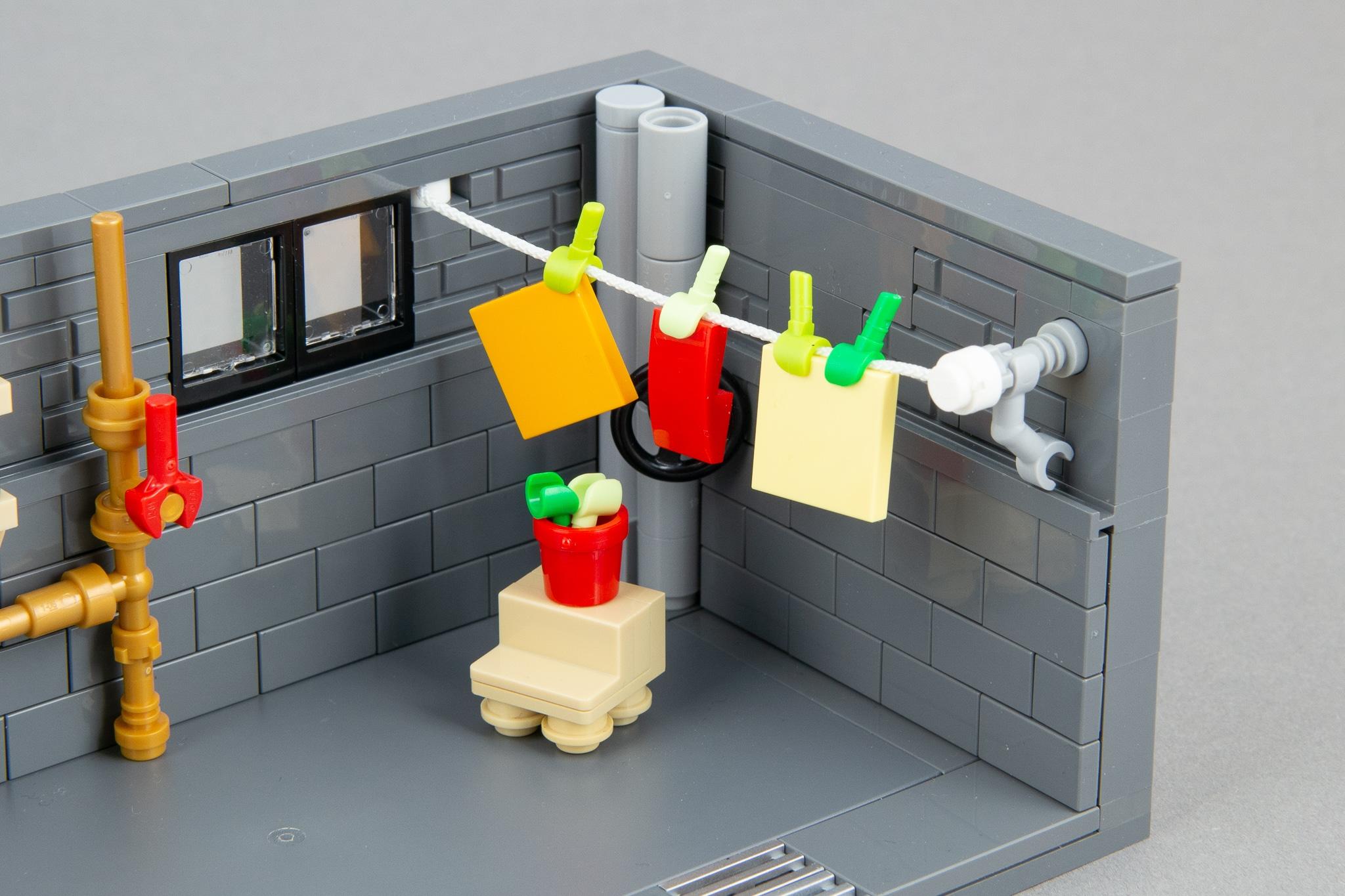 LEGO Moc Waschkeller (10)