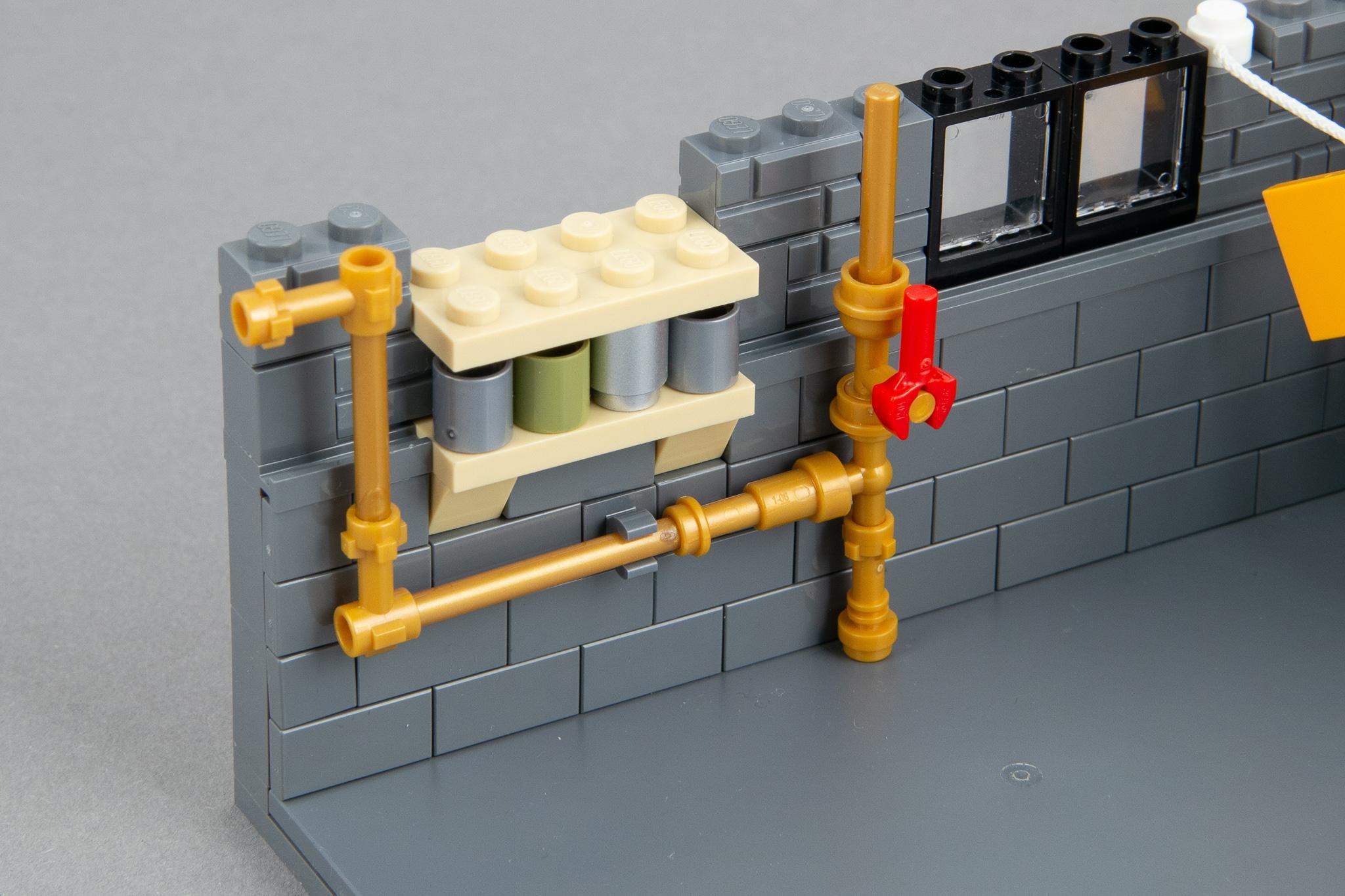 LEGO Moc Waschkeller (13)