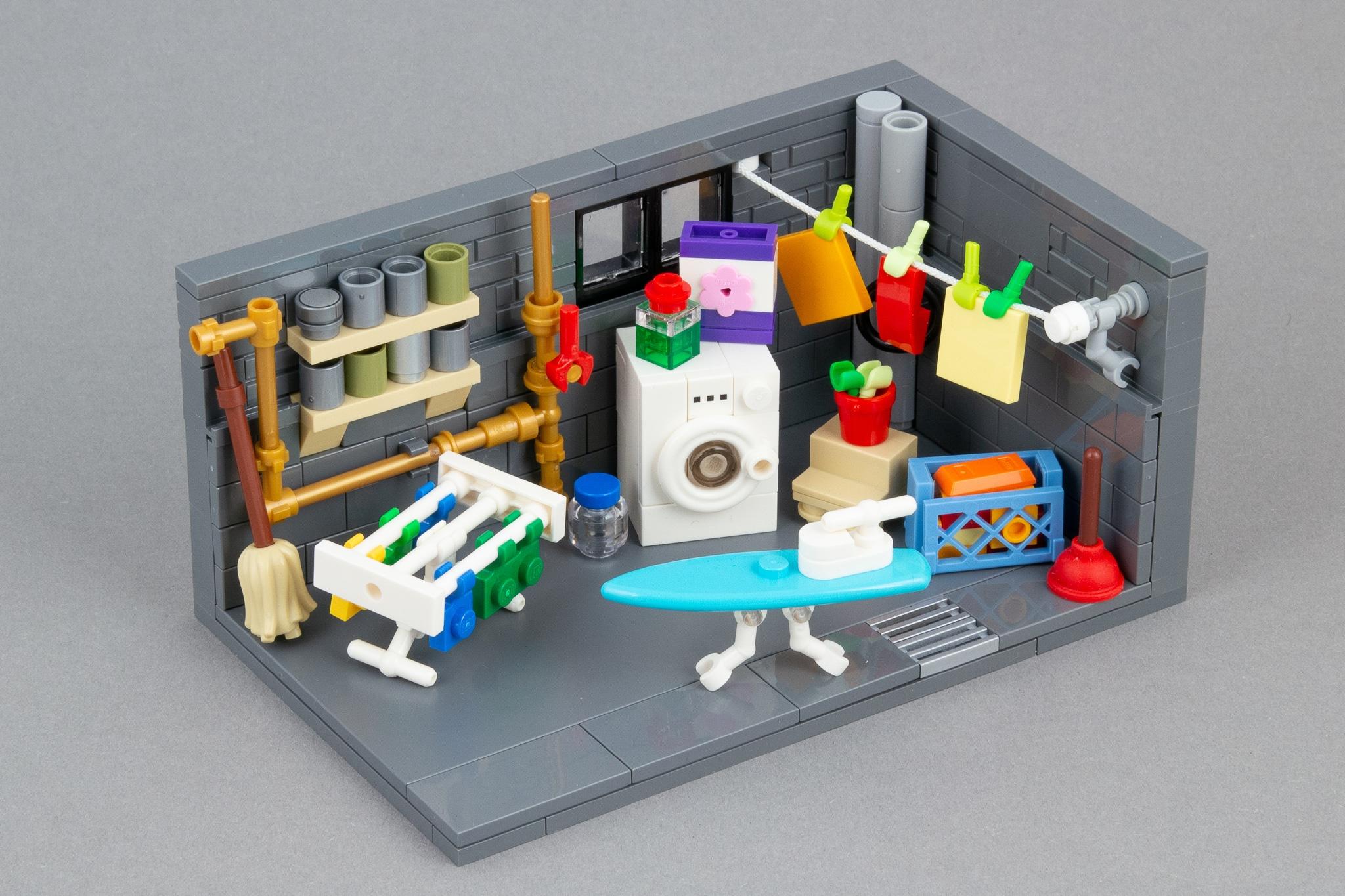 LEGO Moc Waschkeller (3)
