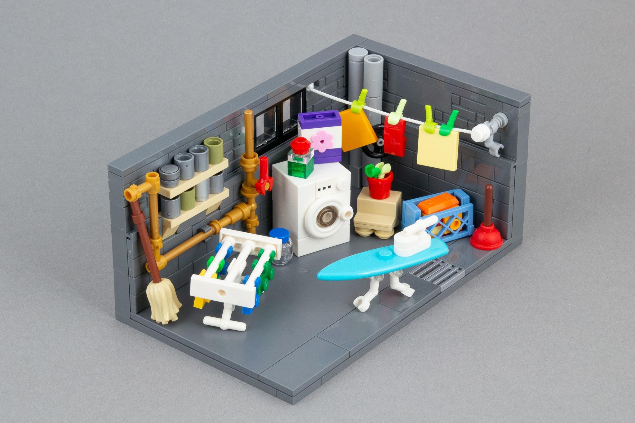 LEGO Moc Waschkeller (4)