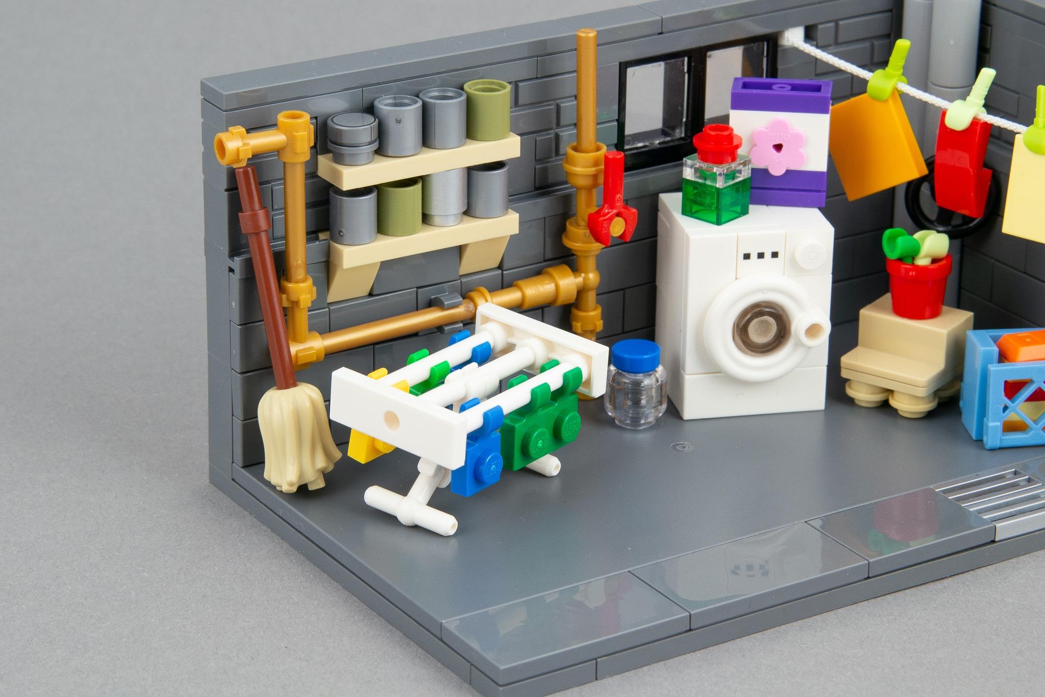 LEGO Moc Waschkeller (8)