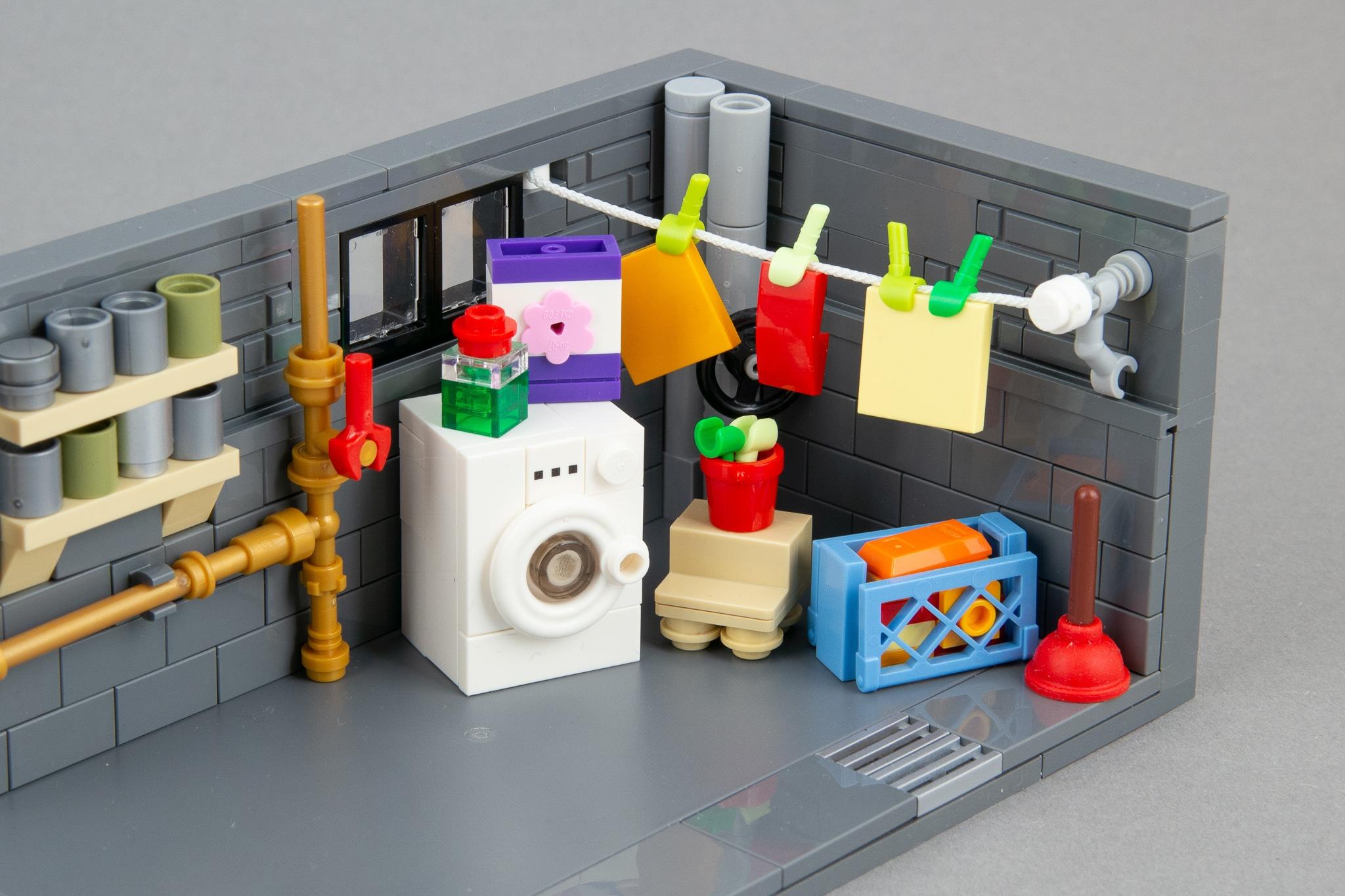 LEGO Moc Waschkeller (9)