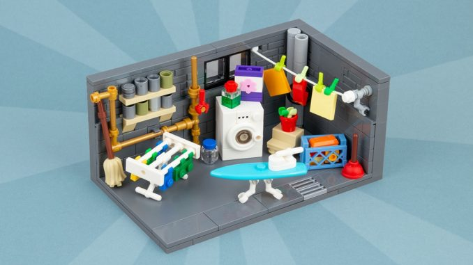 LEGO Moc Waschkeller Titelbild02