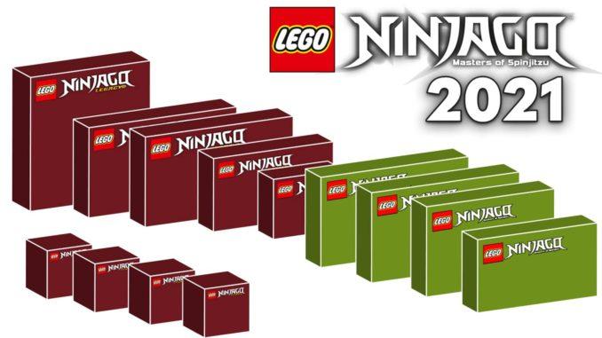 LEGO Ninjago 2021 Neuigkeiten Boxen Titel 02