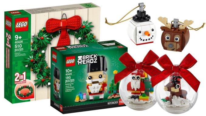 LEGO Seasonal Weihnachten 2020