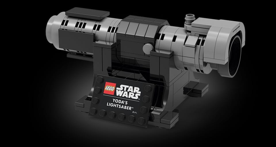 LEGO Star Wars 5006290 Yodas Lichtschwert (Offizielles Bild)