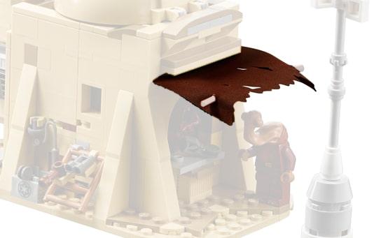 LEGO Star Wars 75052 Mos Eisley Cantina Clothpiece