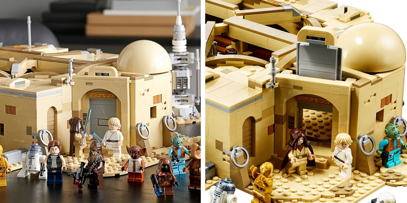 LEGO Star Wars 75052 Mos Eisley Cantina Türen
