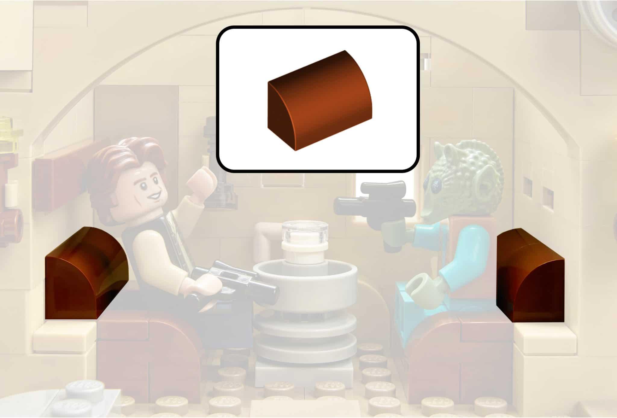 LEGO Star Wars 75052 Mos Eisley Cantina Reddishbrown37352