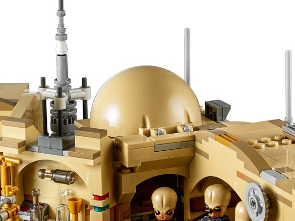 LEGO Star Wars 75052 Mos Eisley Cantina Tan Dome