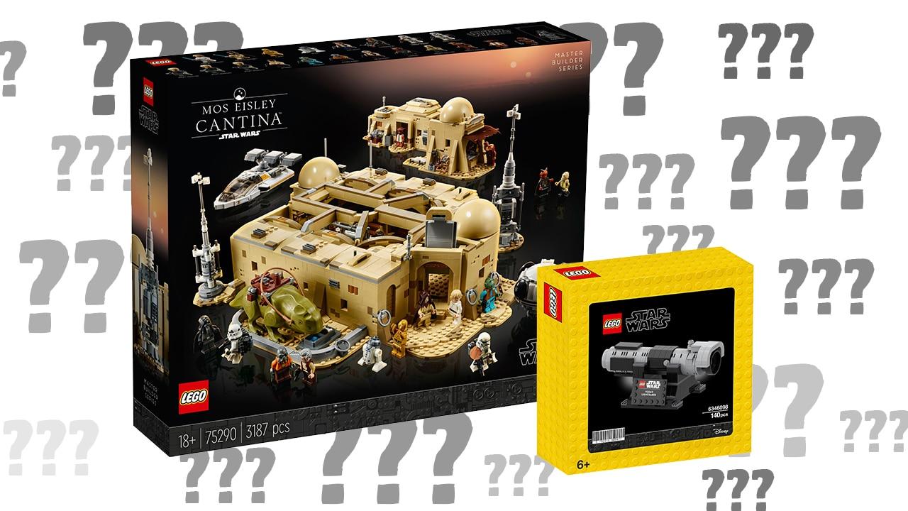 LEGO Star Wars 75290 Cantina FAQ
