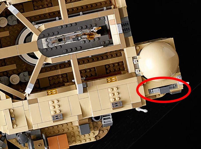 LEGO Star Wars 75290 Mos Eisley Cantina Hinterausgang