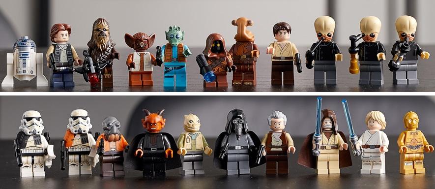 LEGO Star Wars 75290 Mos Eisley Cantina Minifiguren