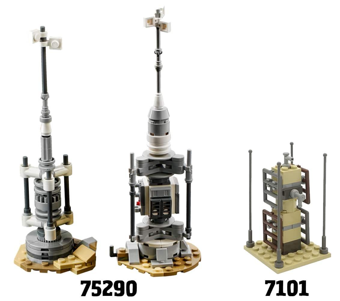 LEGO Star Wars 75290 Mos Eisley Cantina Vaporatoren
