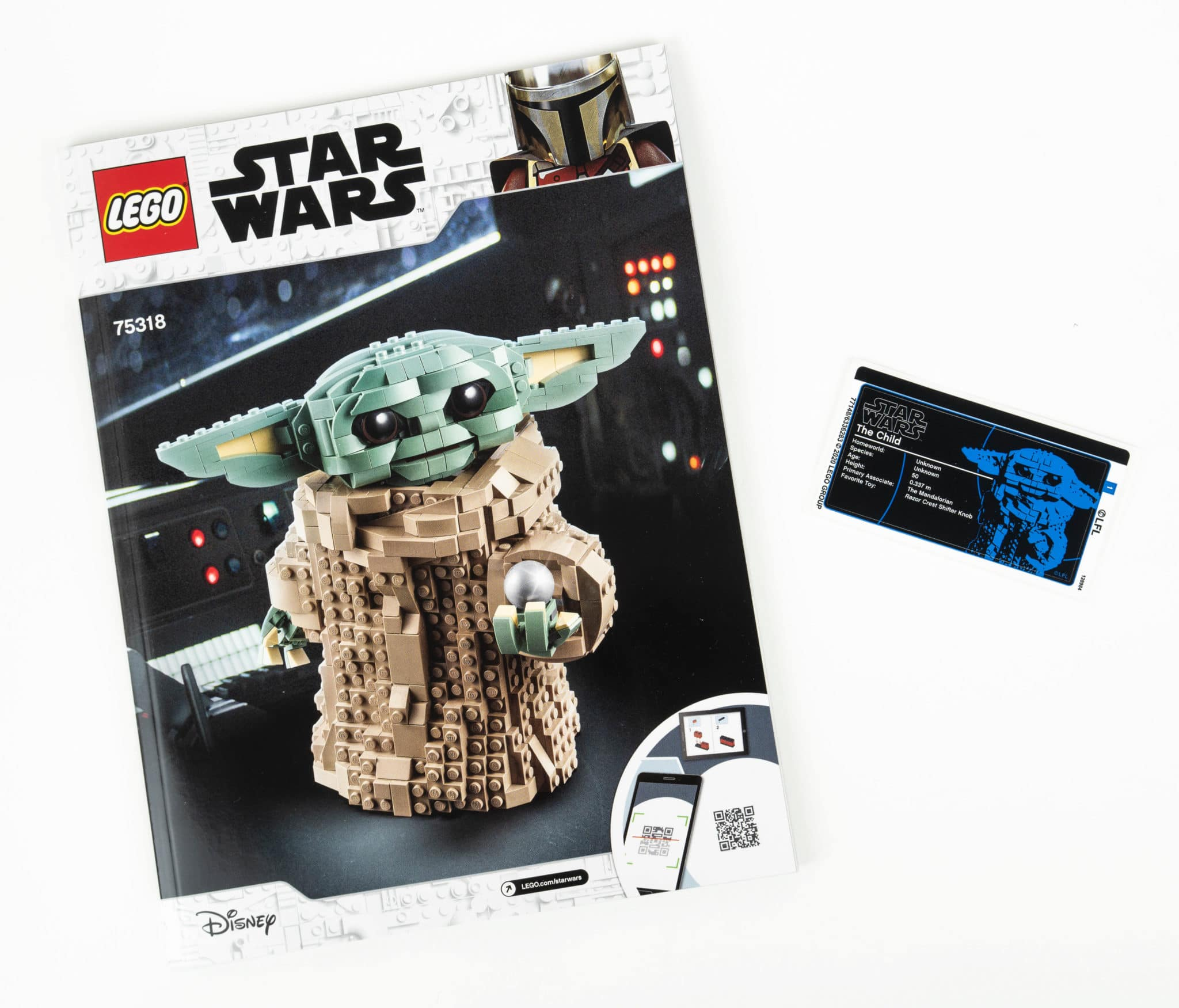 LEGO Star Wars 75318 The Child Anleitung