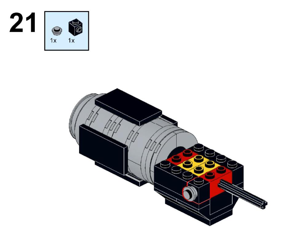 LEGO Steine Und Teile Yodas Lichtschwert Anleitung