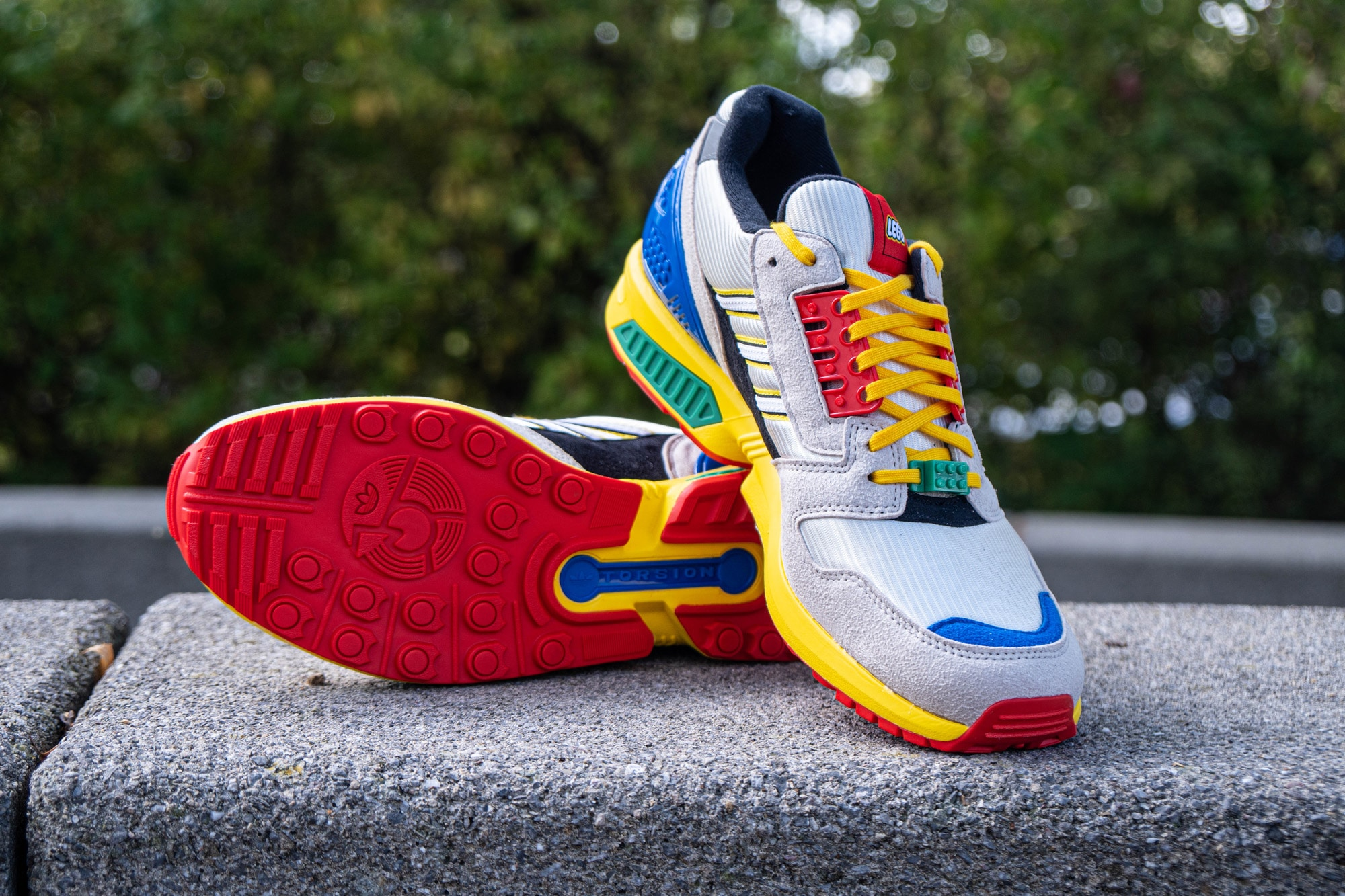 LEGO X Adidas Zx 8000 Review 1