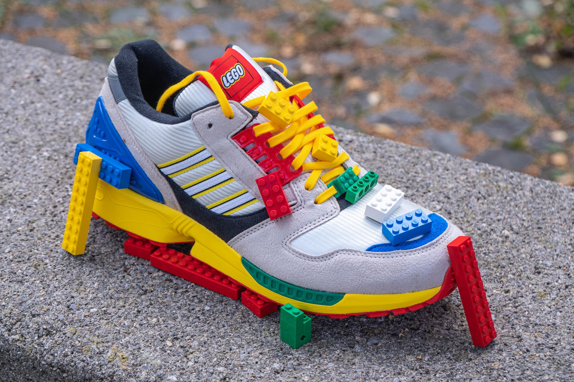 LEGO X Adidas Zx 8000 Review 18