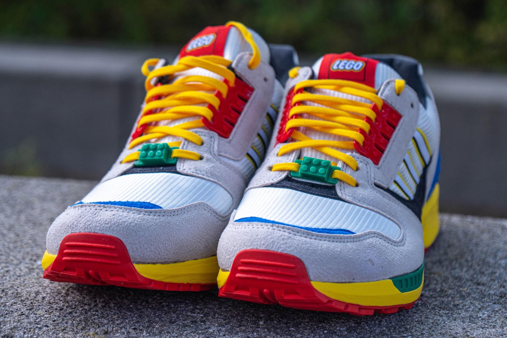 LEGO x adidas ZX 8000 Sneaker im Review