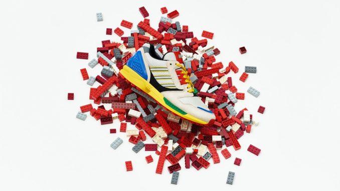 LEGO X Adidas Zx 8000 Sneaker