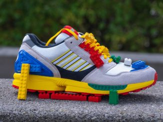 LEGO X Adidas Zx 8000 Sneaker Review