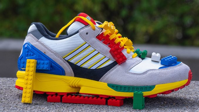 LEGO x adidas ZX 8000 Sneaker im Review