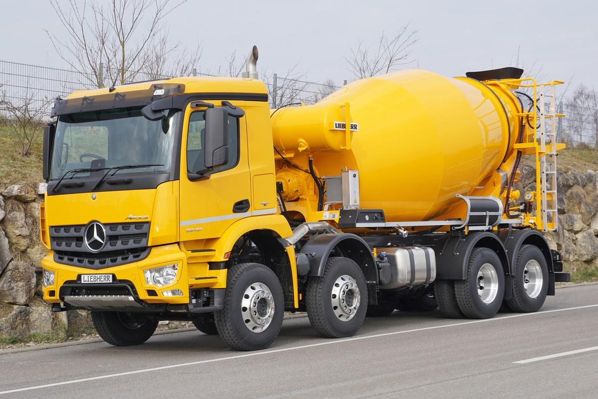 Liebherr Truck Mixer Htm 805