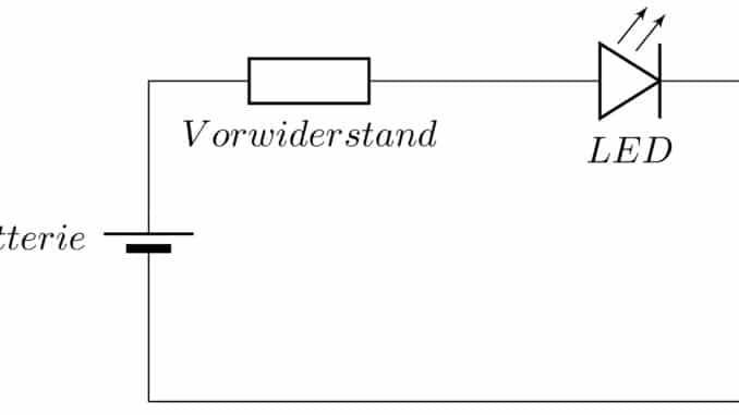 Schaltplan LED