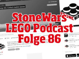 Stonewars LEGO Podcast Folge 86