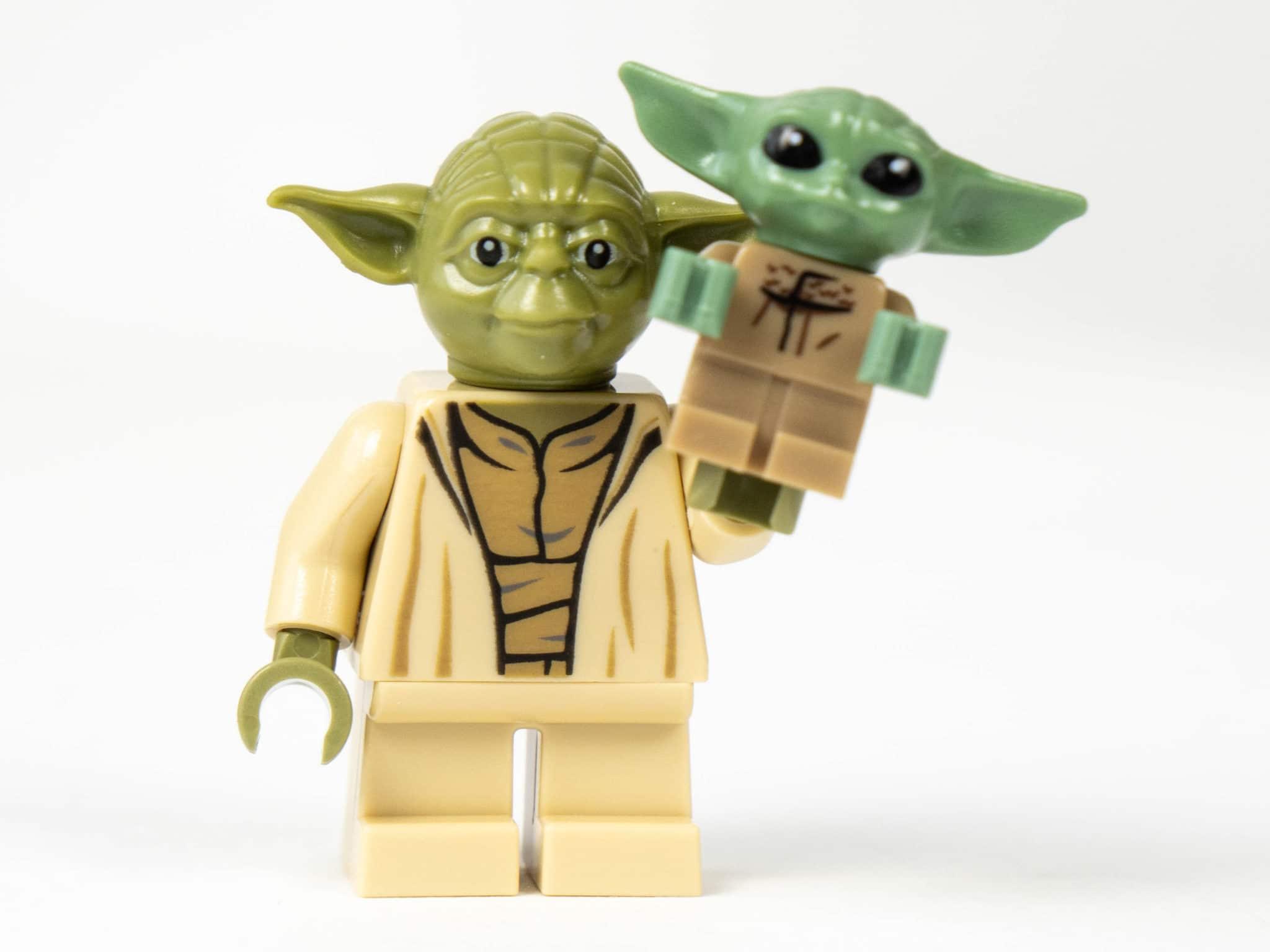 Yoda und The Child Minifigur